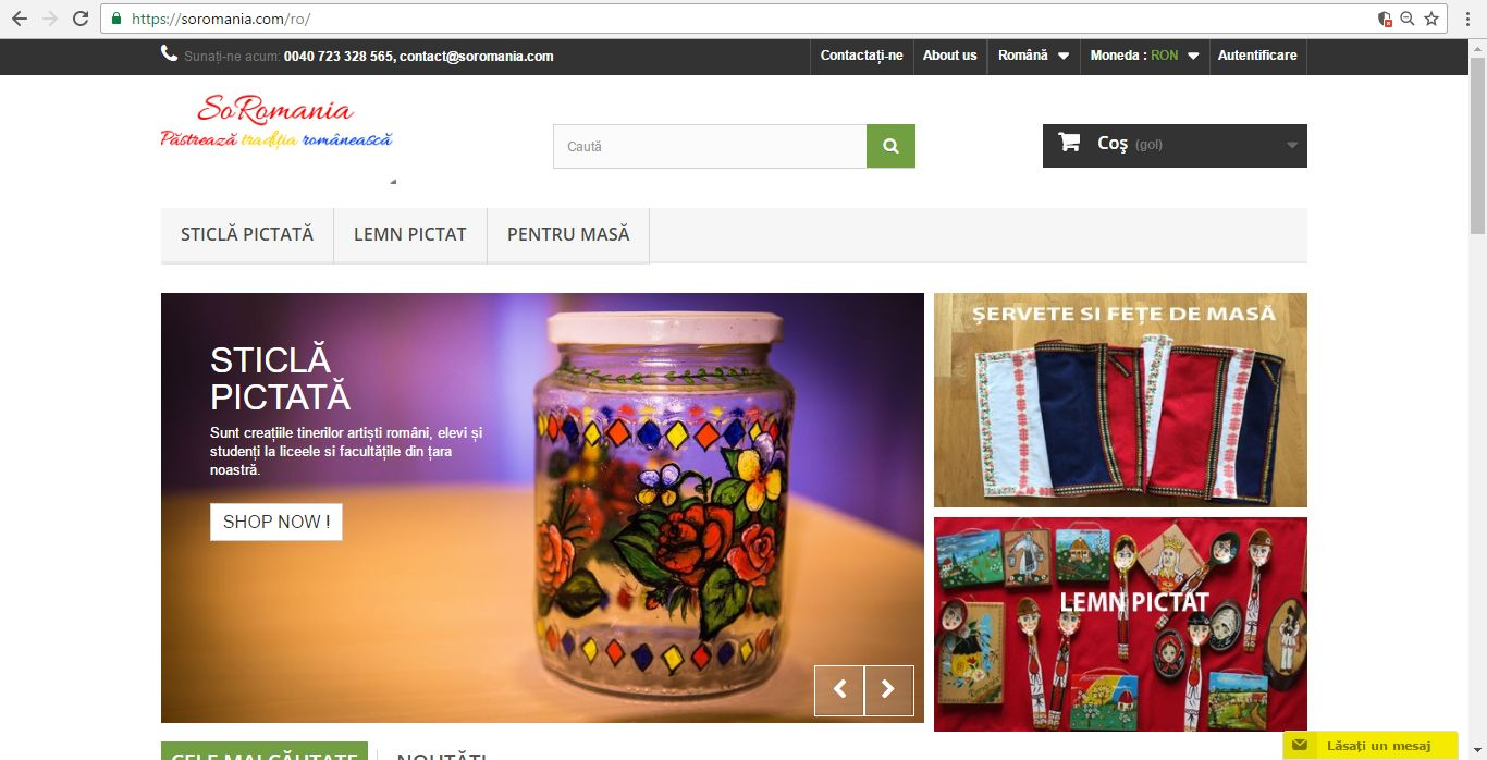 Am lansat magazinul virtual soromania.com